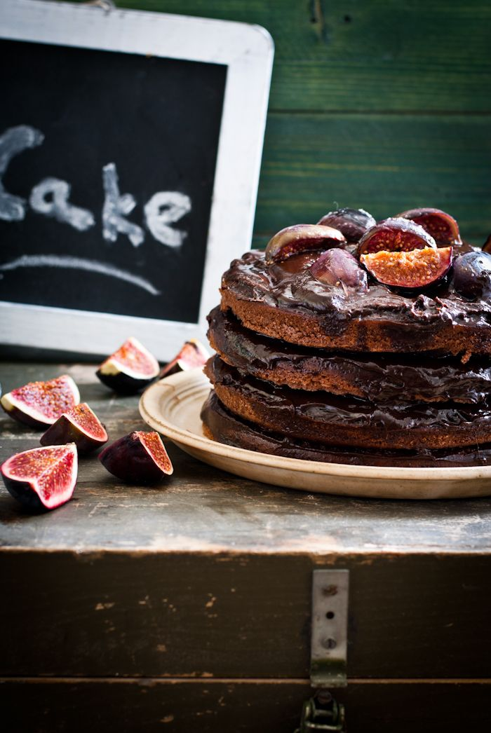 Chocolate with Caramelized Fig Cake | ⁓4 Play with food ...