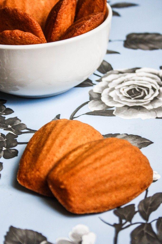 Honey and Vanilla Madeleines | Madeleines | Pinterest
