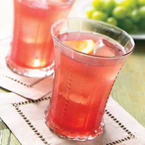 pomegranate Champagne punch : Target recipes