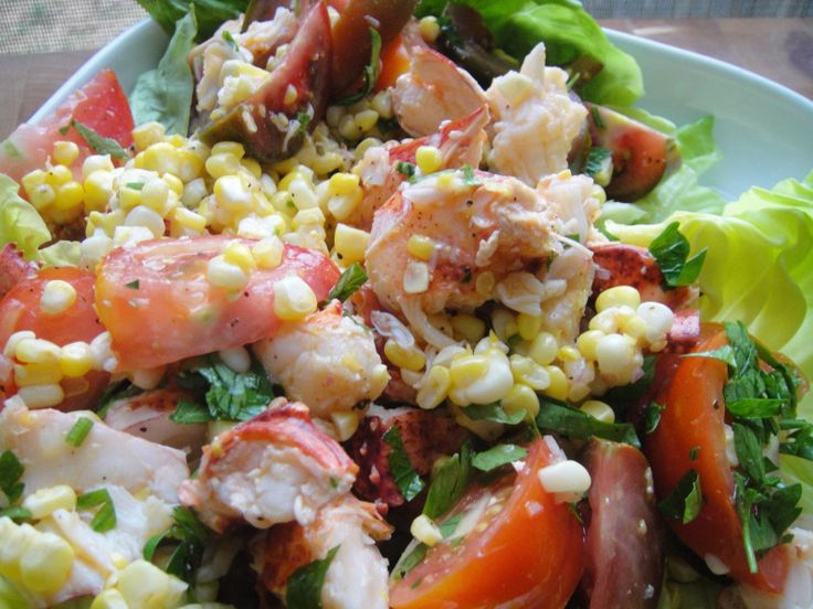 Cook the Book: Corn, Tomato, and Lobster Salad | Recipe