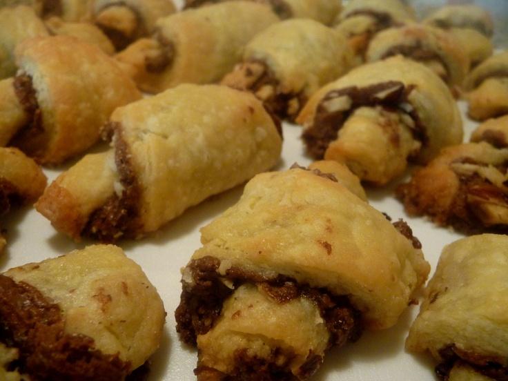 Nutella Rugelach cookies!