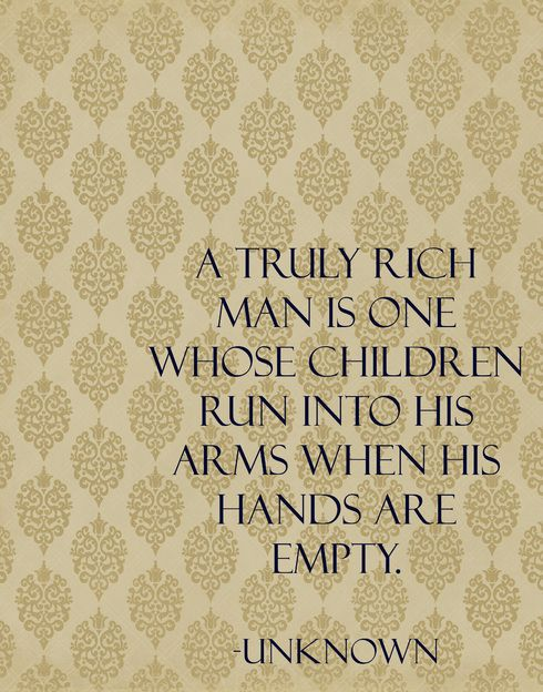 or truly rich woman