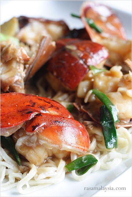 Lobster Yee Mein (Lobster Noodles) Recipe