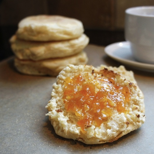 homemade english muffins | For the Home | Pinterest
