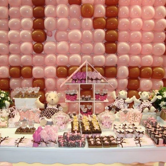 Pin by jenn kloster on party ideas pinterest for Baby gift decoration ideas