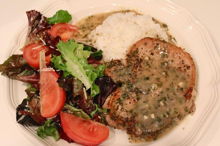 Herbed Pork Chops | Recipe