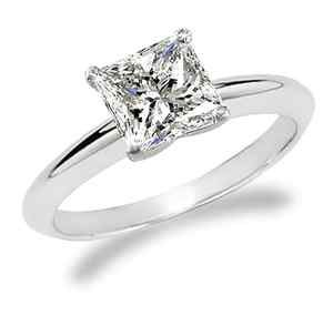 princess cut solitaire from Tiffany's. He sooo nailed it! Love me some ...