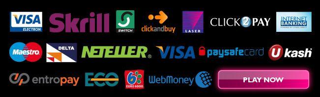 Online casino payment methods primm casino resort