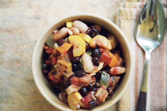 Spicy Vegetarian Chili by Amanda Mae Bird on Flickr