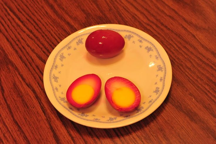 Amish Red Beet Eggs ~