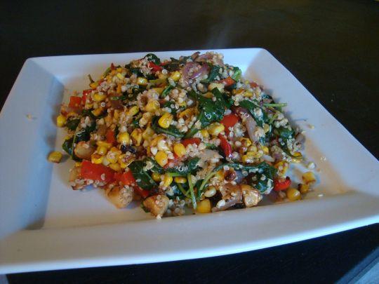 Roasted Vegetable Quinoa Salad | Vegetarian Recipes | Pinterest