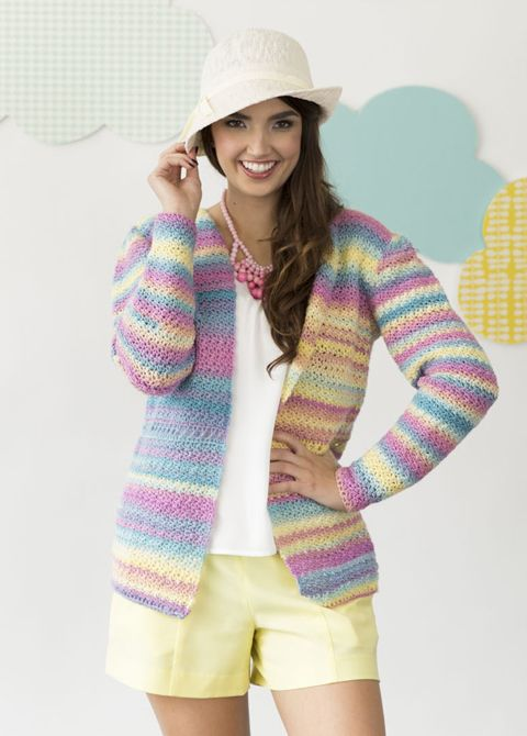 Sunday Cardigan | crochet today