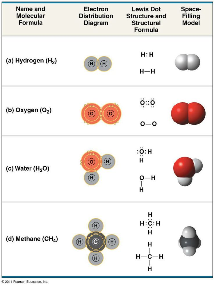 Covalent Bond Examples images