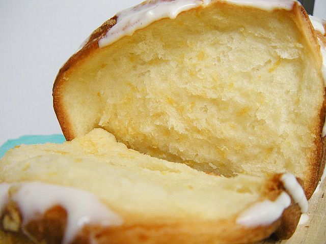 Lemon-scented pull-apart coffee cake | Breakfast Foods | Pinterest
