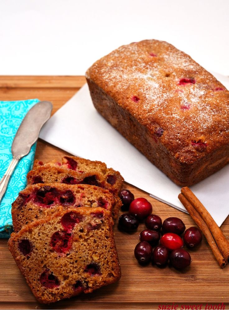 Cranberry Orange Bread | Quick Breads & Donuts | Pinterest