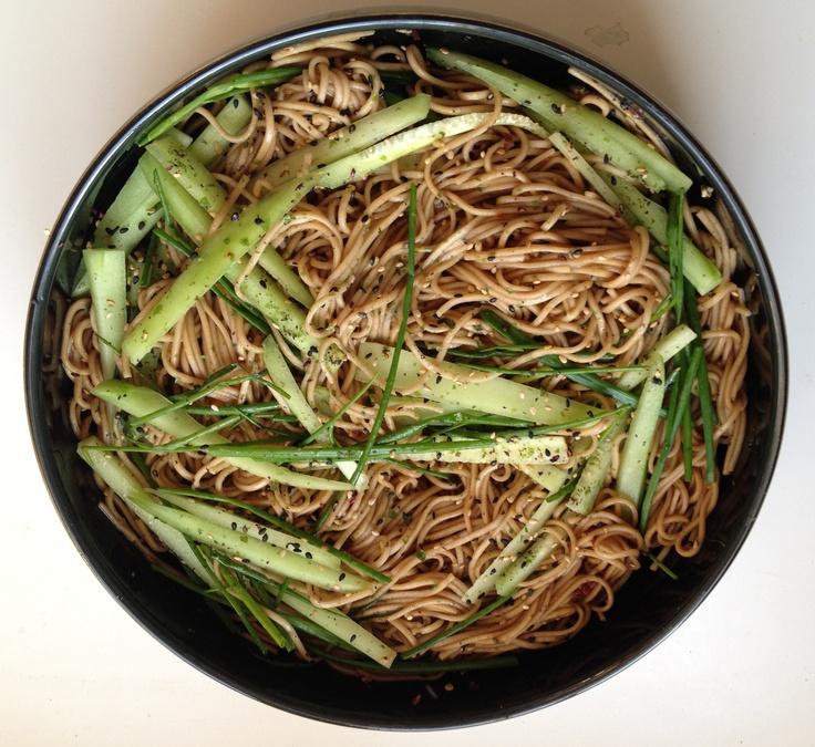 Recipe: Sesame Soba Noodles | Recipes | Pinterest