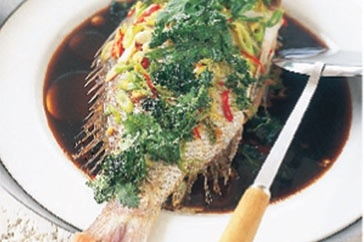 Steamed Fish With Chickpeas And Currants Recipes — Dishmaps