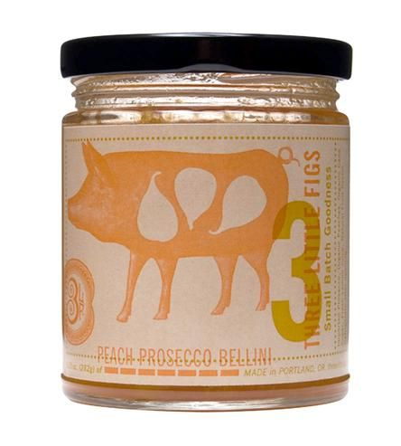 Peach Prosecco Bellini Jam by Three Little Figs on Scoutmob Shoppe # ...