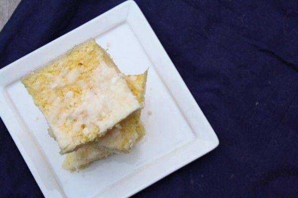 Easy Cheesy Oven Baked Polenta-EASY. Delic