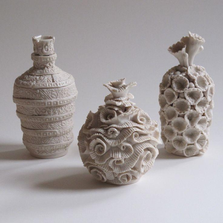 Coil pots teresa brooks pottery ceramic coil pots for Clay pottery designs