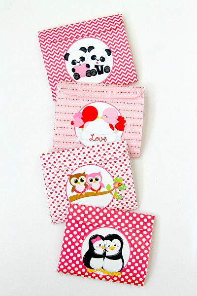 valentine's day envelopes diy