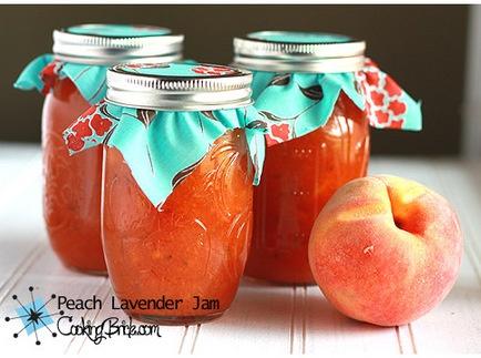 Peach Lavender Jam | Canning, Preserving, Freezing | Pinterest