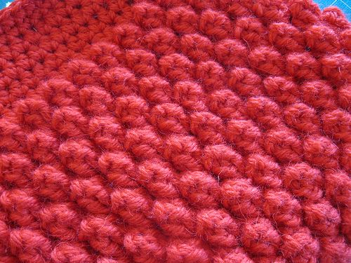 Crochet Popcorn Stitch Afghan Oh, the texture! Oh, the touch! Oh ...