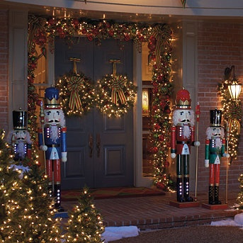life size nutcrackers christmas outdoors pinterest for nutcracker outdoor christmas decorations - Nutcracker Outdoor Christmas Decorations