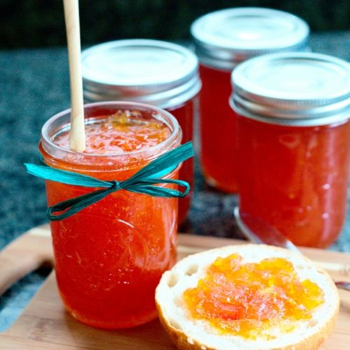 Ruby Red Grapefruit Marmalade | foods i want to try | Pinterest