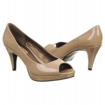 Bandolino Mylah Shoes (Lt Natural Patent) - Women's Shoes - 8.0 M