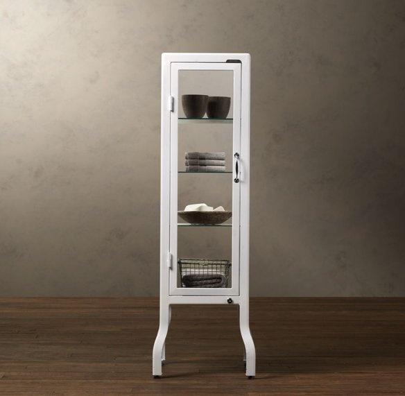 Brand new restoration hardware pharmacy cabinet - Restoration hardware cabinets ...