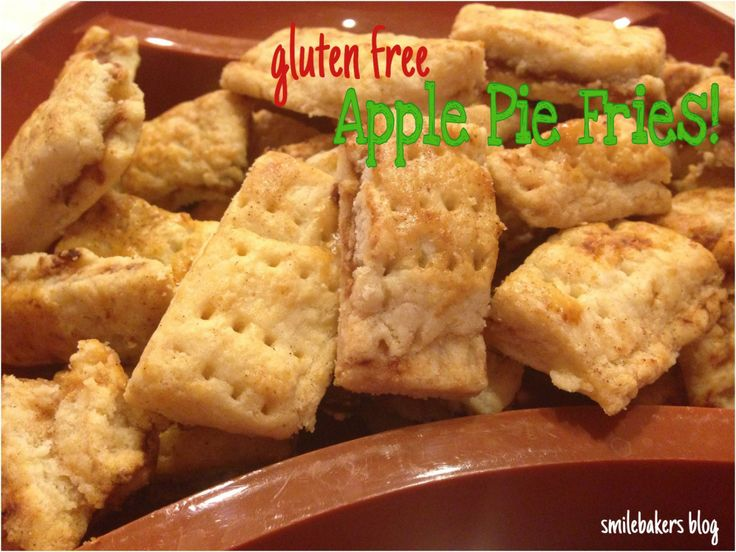 Apple Pie Fries | Smilebakers | Gluten Free Sweets! | Pinterest