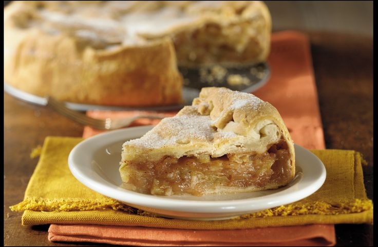 Rustic Apple Pie | Pies & Cheesecakes | Pinterest