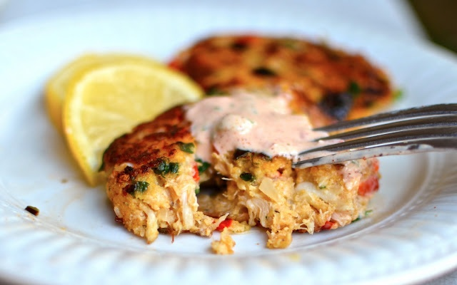 Gluten-Free Crab Cakes | From the Sea to the Belly | Pinterest