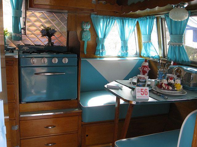 Shasta Travel Trailer Interior 1956 Vintage Trailers Pinterest