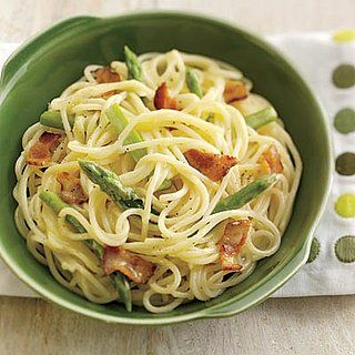 Asparagus Carbonara Recipe- I used the ingredients from this recipe ...