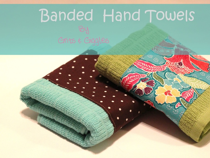 Banded Hand Towels