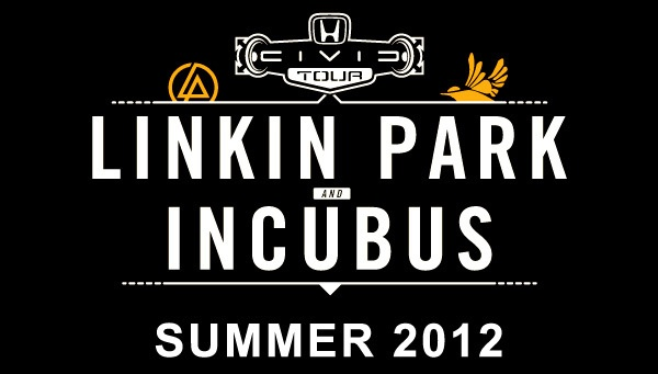 Honda Civic Tour 2012 featuring Linkin Park and Incubus