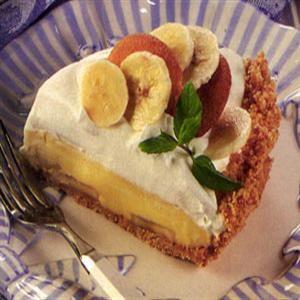 Banana Pudding Cream Pie | Food...Pie & Ice Creams | Pinterest