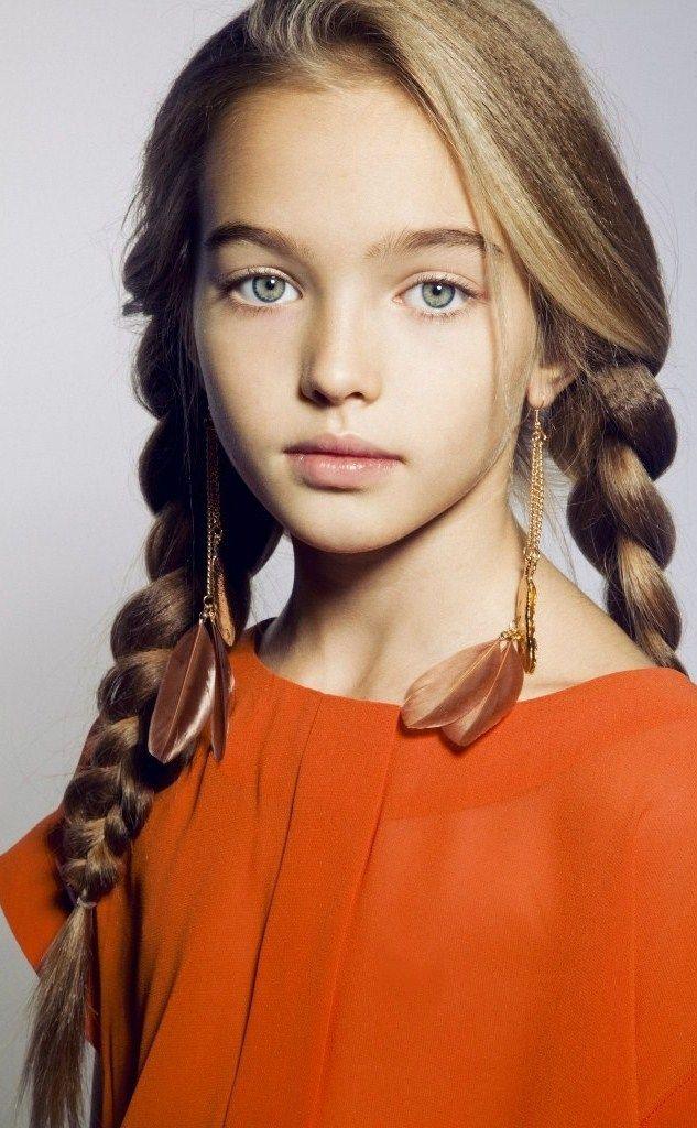Russian child model Anastasia Bezrukova. | Boutique Kids | Pinterest