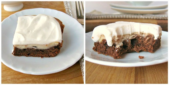 Goat Cheese Brownies | Chocolaty Decadence | Pinterest