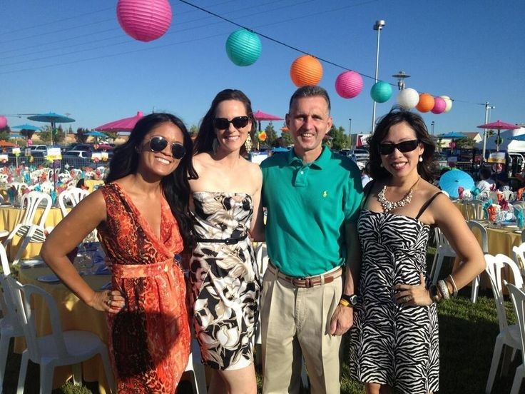 Another great photo of the abc30 action news action news team from