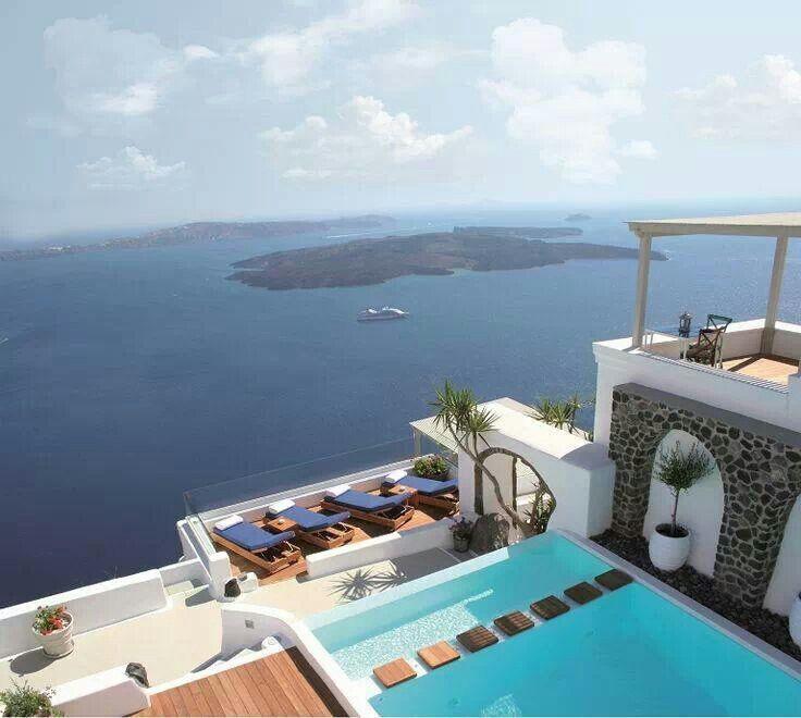 Iconic Santorini Boutique Cave Hotel Greece Ellada Mou Pint