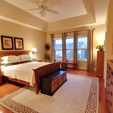Bedroom With Behr Gobi Desert Paint No Place Like Home