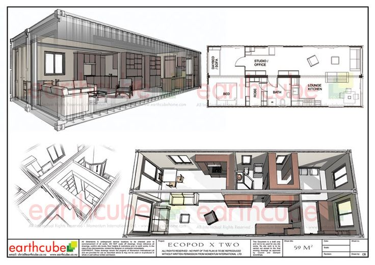 0 4 ecopod 2 x 12 1b shipping container houses pinterest for 12 container house floor plan