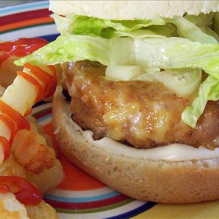 Ground Chicken Burgers Recipe | ...get in my beeelly..... | Pinterest