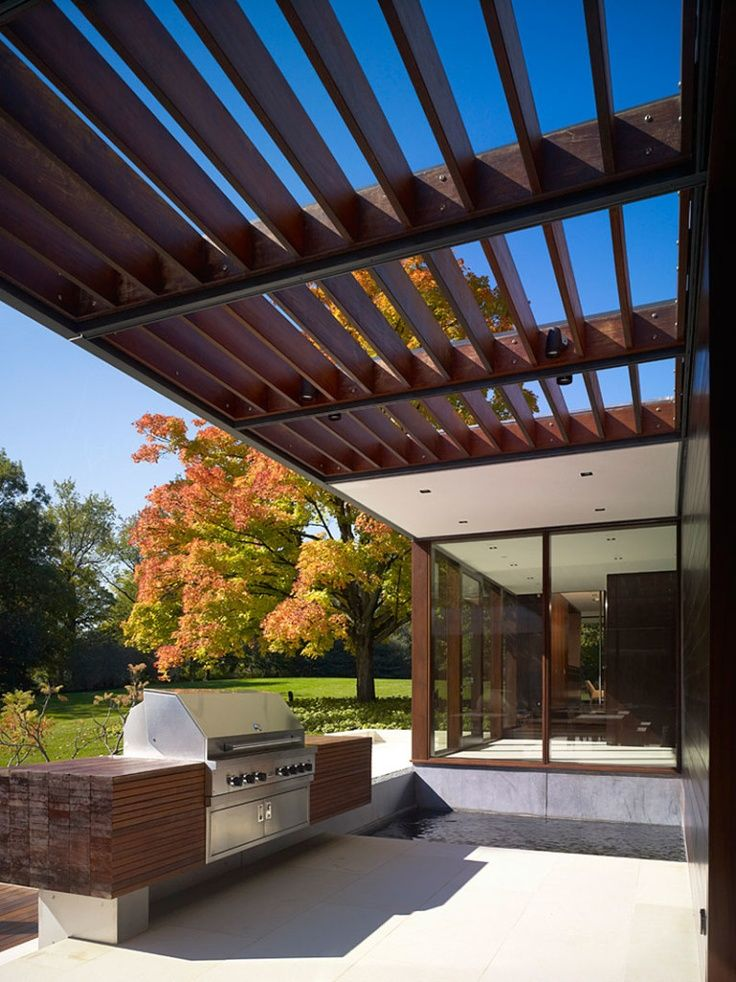 Modern trellis exterior seating bryce canyon ideas for Contemporary garden trellis designs