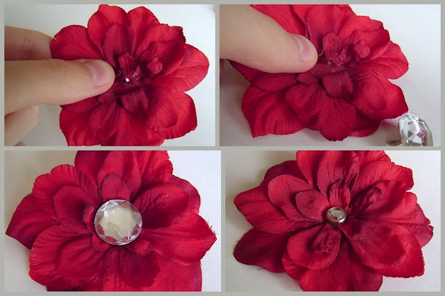 Fake Flowers For Hair Bows 52