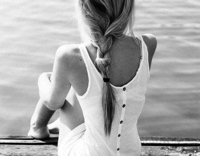 backwards dress and braid