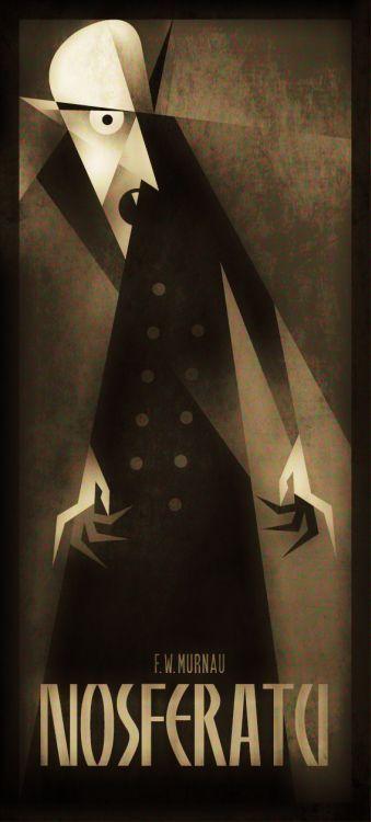 Nosferatu - 1922 | ILLUSTRATIONS | Pinterest